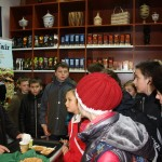 First clients in the first Fair Trade Shop in Poland.